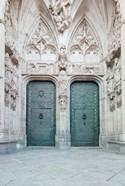 Toledo Cathedral Door, Toledo, Spain