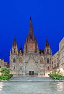 Gothic Quarter, Barcelona Cathedral, Barcelona, Spain