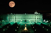 Royal Palace and Plaza de Oriente, Madrid, Spain