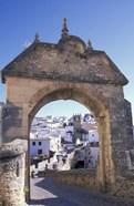 Entry to Jewish Quarter, Puerta de la Exijara, Ronda, Spain