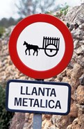 Spain, Majorca, Road Sign