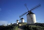 Windmills, Consuegra, La Mancha, Spain