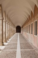 Arched Walkway, The Royal Palace, Aranjuez, Spain
