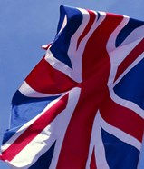 British Flag, England