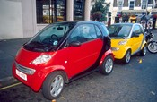 Smart Cars, London, England