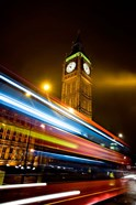 London, Big Ben, Houses of Parliament, Red bus