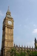 England, London, Big Ben Clock Tower
