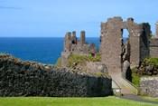 Ireland, Dunluce Castle Ancient Architecture