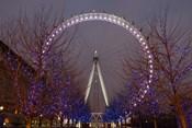 England, London, London Eye Amusement Park