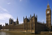 UK, London, Big Ben and Houses of Parliament