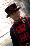 Beefeater at the Tower of London, London, England