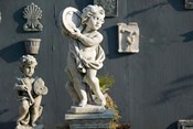 Greece, Ionian Islands, Kefalonia, Cherub Statue