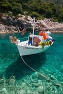 Greece, Ionian Islands, Zakynthos, Fishing Boat