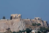 Greece, Athens View of the Acropolis