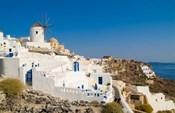 Mountain Cliffs Oia, Santorini, Greece