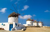Traditional Windmill, Mykonos, Greece