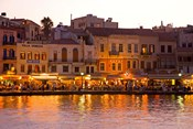 The Old Harbor, Chania, Crete, Greece