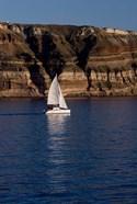Greece, Cyclades, Santorini, Sailing