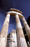 Temple of Athena, Tholos Rotunda, Delphi, Fokida, Greece