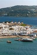 Greece, Mykonos, Chora, Inner Harbor of Mykonos