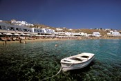Platis Gialos Beach, Mykonos, Cyclades Islands, Greece