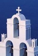 Coastal Bell Towers, Santorini, Greece