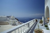 Thira and the Caldera, Santorini, Cyclades Islands, Greece