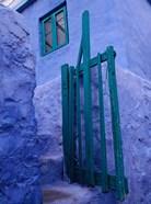 Green Gate on Kalymnos Island, Dodecanese Islands, Greece