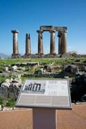 Greece, Corinth Doric Temple of Apollo
