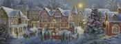 Christmas Village Panoramic