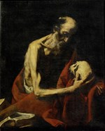 Saint Jerome Meditating