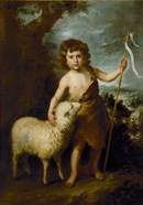 Young John the Baptist with the Lamb