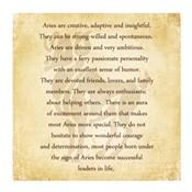 Aries Character Traits