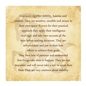 Capricorn Character Traits
