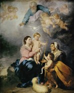 The Holy Family, also called the Virgin of Seville