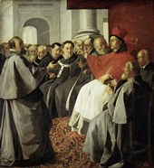 Saint Bonaventura at the Church Council of Lyon