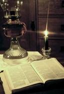 Bible & Lamp