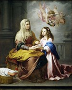 Saint Anne and the Virgin