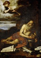 Saint Jerome with the Angel of the Last Judgement