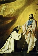 The Apparition of Jesus Christ (Vision of Brother Andrés Salmerón)