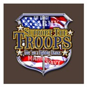 Support The Troops Give 'Em a Fighting Chance