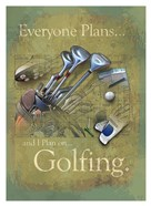 Plan to Golf