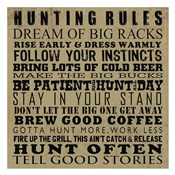 Hunting Rules