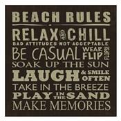 Beach Rules (square)