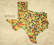 Texas County Map