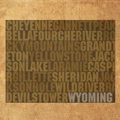 Wyoming State Words