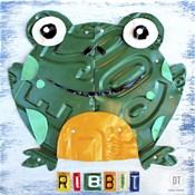 Ribbit The Frog
