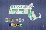 Massachusetts License Plate Map