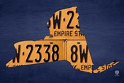 New York License Plate Map