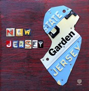 New Jersey License Plate Map